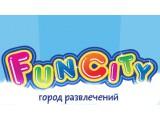 Логотип Fun city, семейный развлекательный центр