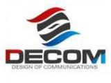 Логотип DeCom, ООО, торговая компания